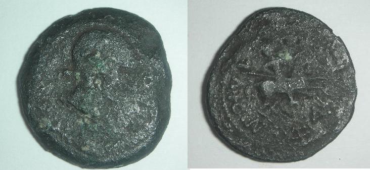 Semis de Obulco (r: jinete) Moneda11