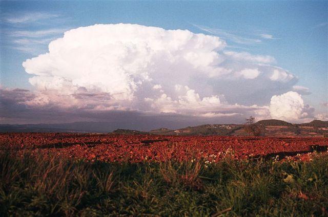 tableau de classification des orages +dossierci dessous Espagn10