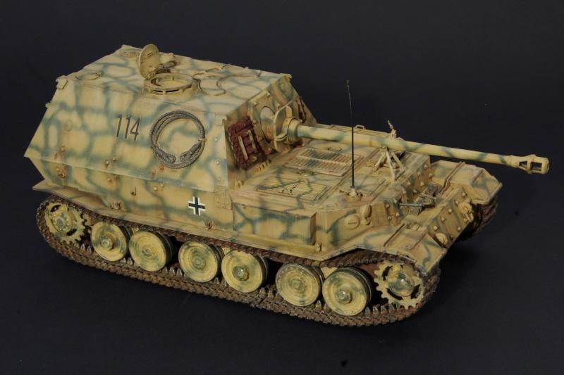 elefant Italeri 1/35 Koursk 1943 Imgp5231