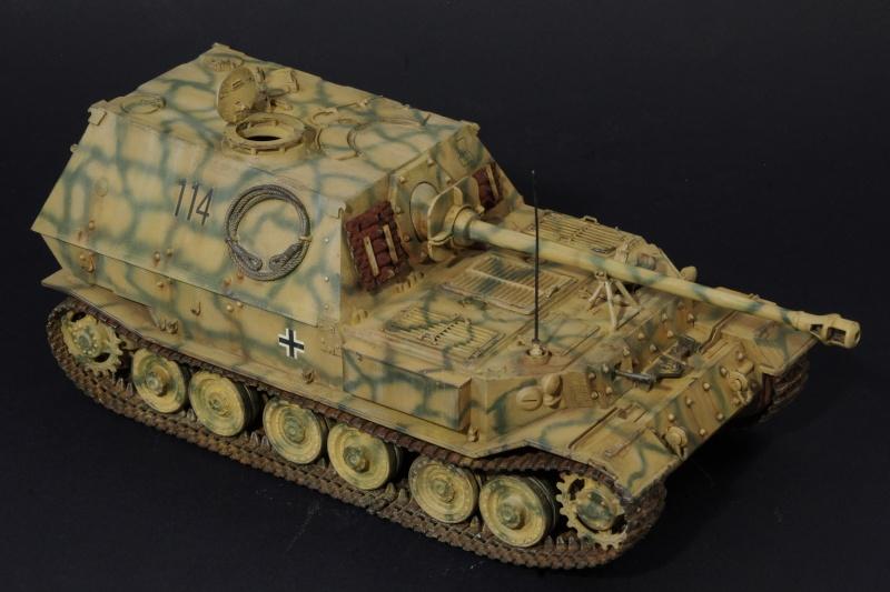 elefant Italeri 1/35 Koursk 1943 Imgp5234