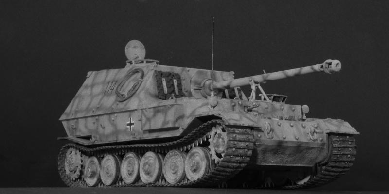 elefant Italeri 1/35 Koursk 1943 Imgp5236