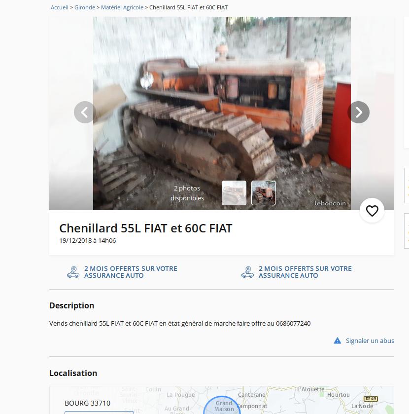 restauration - Restauration FIAT 60C - Page 2 Captur10