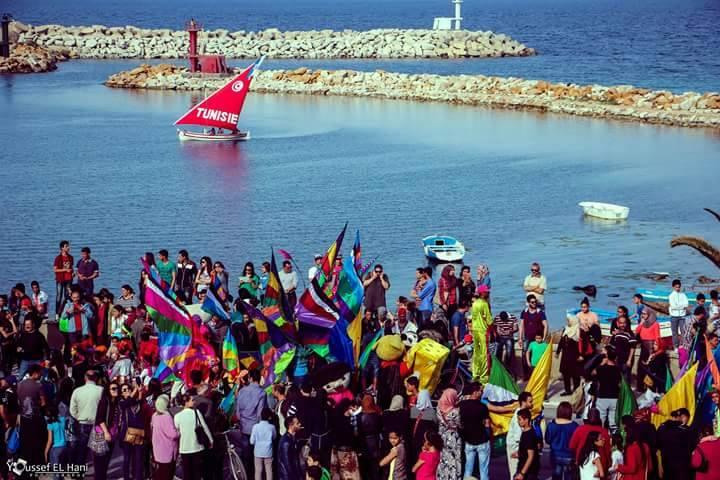 La ville de Monastir au rythme de son premier carnaval international  Car110