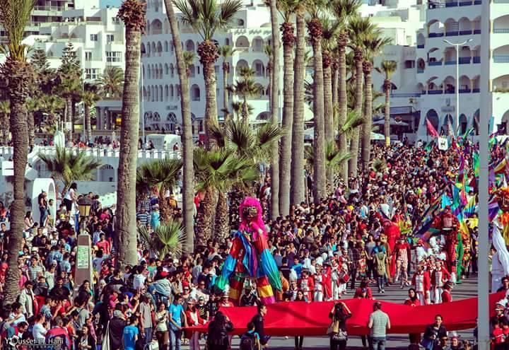 La ville de Monastir au rythme de son premier carnaval international  Carnav10