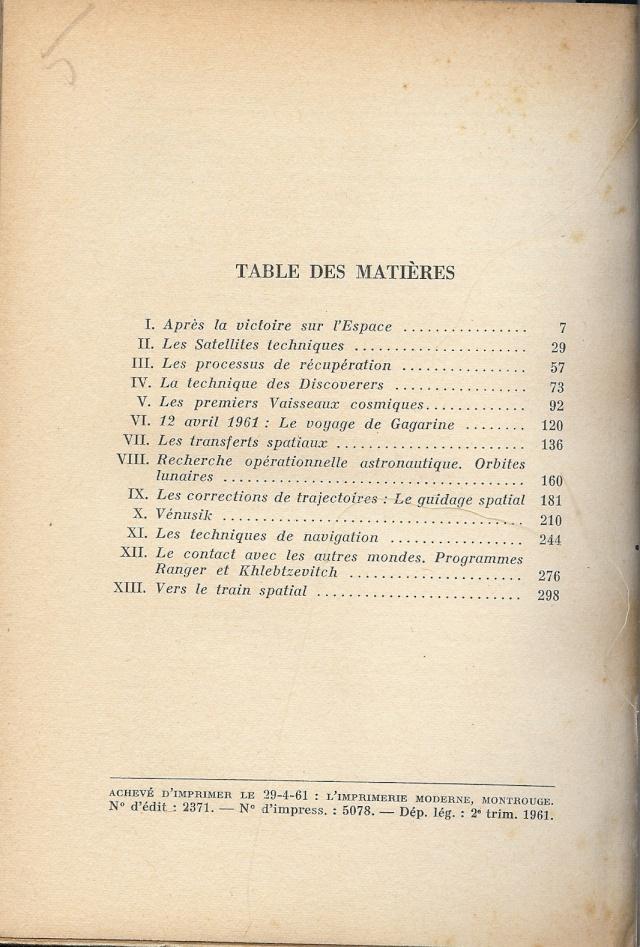 """Livre : """"L'homme dans l'espace"""" d' A. Ducrocq 11-14-11"""