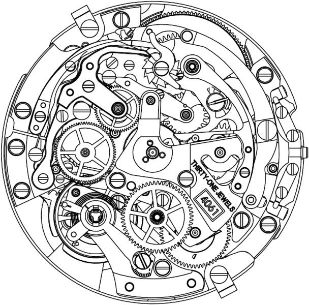 ZENITH : EL PRIMERO CHRONOMASTER 1969 TOUR AUTO EDITION  4061_m12