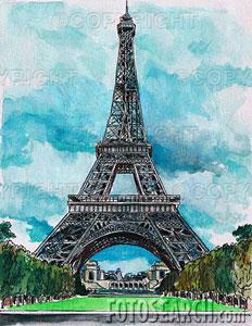 La tour Eiffel. Eiffel10