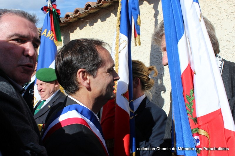 Reportage photo cérémonie inauguration rue commandant de Saint Marc à Béziers 33-img10