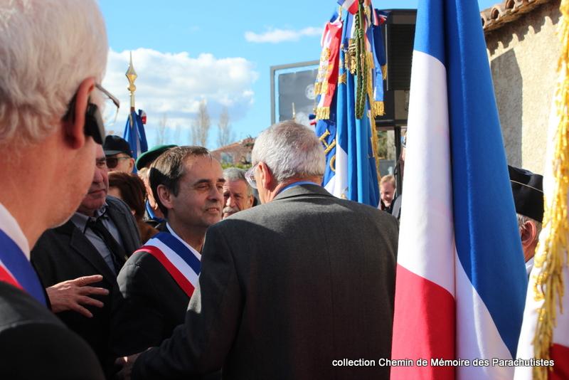 Reportage photo cérémonie inauguration rue commandant de Saint Marc à Béziers 35-img10