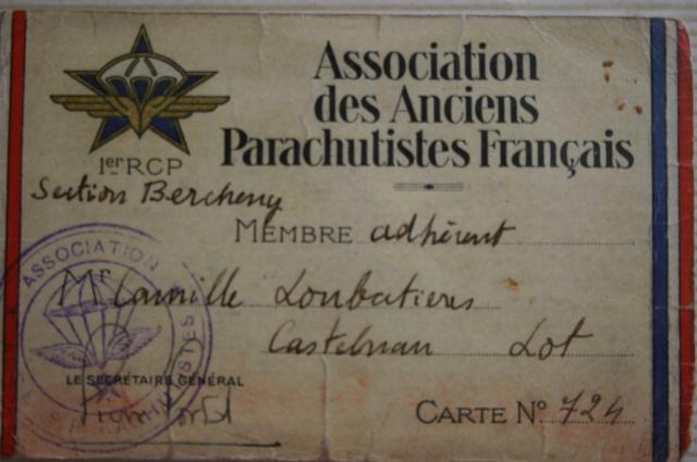 carte n°724 des Anciens Parachutistes Français..pièce musée! Aapf_p10