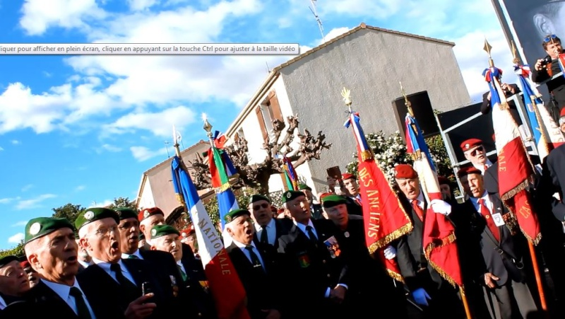 Général Piquemal à Béziers: Merci mon général d'avoir terminé la cérémonie en chef de guerre, agrémentés de vos qualités habituelles de chef coeur Piquem10