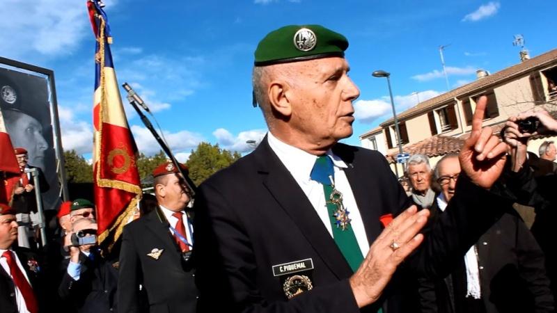 Général Piquemal à Béziers: Merci mon général d'avoir terminé la cérémonie en chef de guerre, agrémentés de vos qualités habituelles de chef coeur Piquem13