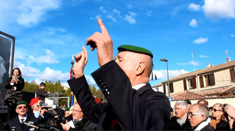 Général Piquemal à Béziers: Merci mon général d'avoir terminé la cérémonie en chef de guerre, agrémentés de vos qualités habituelles de chef coeur Piquem14