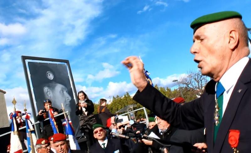 Général Piquemal à Béziers: Merci mon général d'avoir terminé la cérémonie en chef de guerre, agrémentés de vos qualités habituelles de chef coeur Piquem16