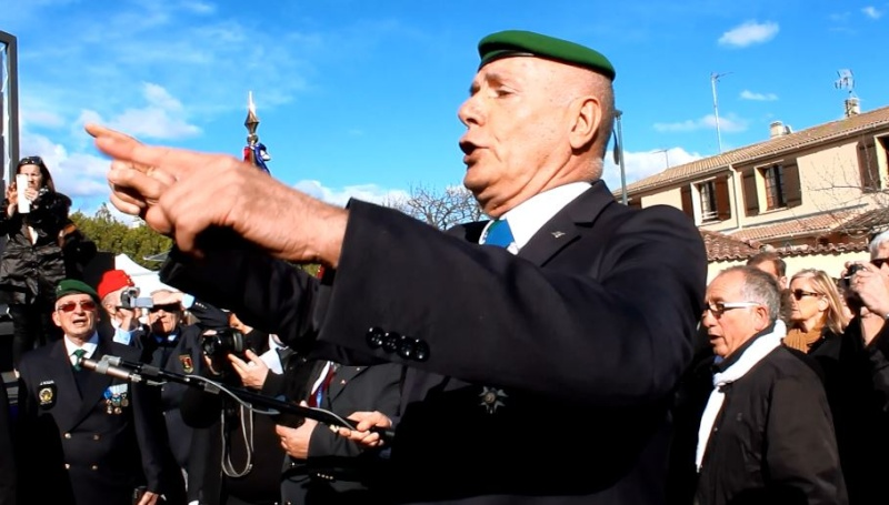 Général Piquemal à Béziers: Merci mon général d'avoir terminé la cérémonie en chef de guerre, agrémentés de vos qualités habituelles de chef coeur Piquem17