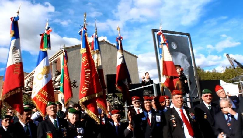 Général Piquemal à Béziers: Merci mon général d'avoir terminé la cérémonie en chef de guerre, agrémentés de vos qualités habituelles de chef coeur Piquem18