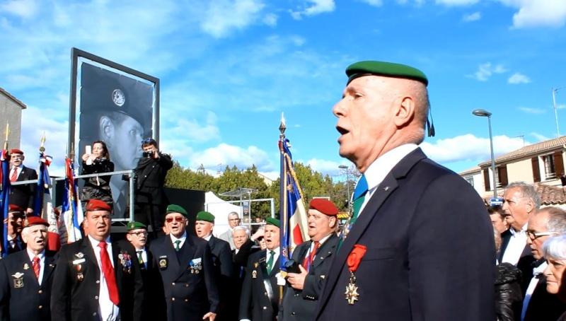 Général Piquemal à Béziers: Merci mon général d'avoir terminé la cérémonie en chef de guerre, agrémentés de vos qualités habituelles de chef coeur Piquem19