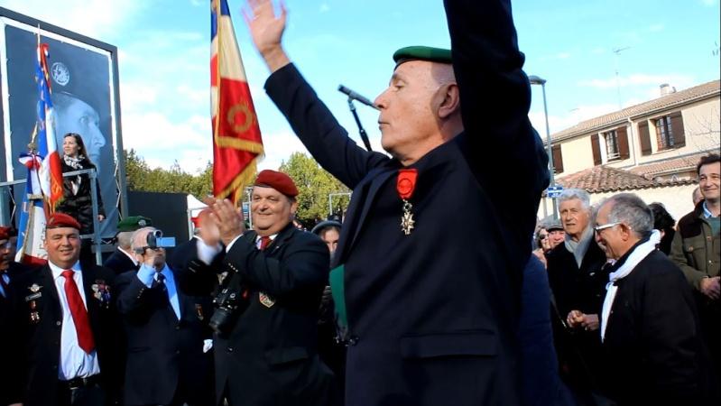 Général Piquemal à Béziers: Merci mon général d'avoir terminé la cérémonie en chef de guerre, agrémentés de vos qualités habituelles de chef coeur Piquem20