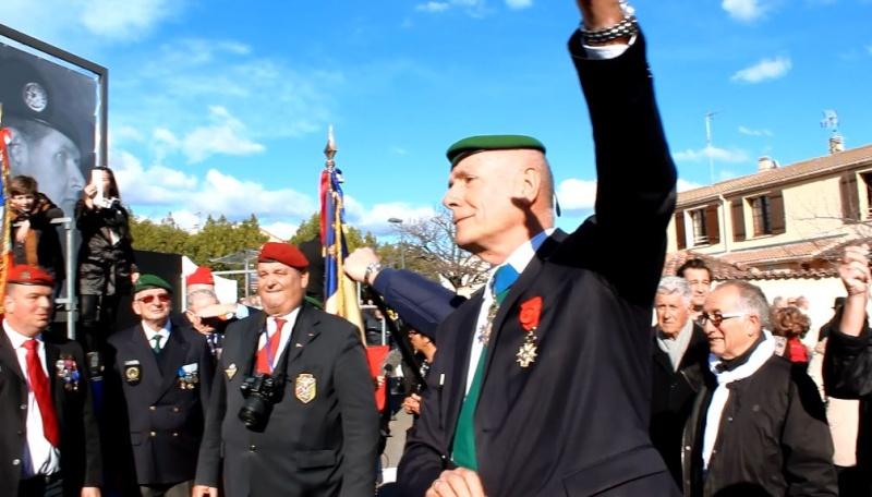 Général Piquemal à Béziers: Merci mon général d'avoir terminé la cérémonie en chef de guerre, agrémentés de vos qualités habituelles de chef coeur Piquem21
