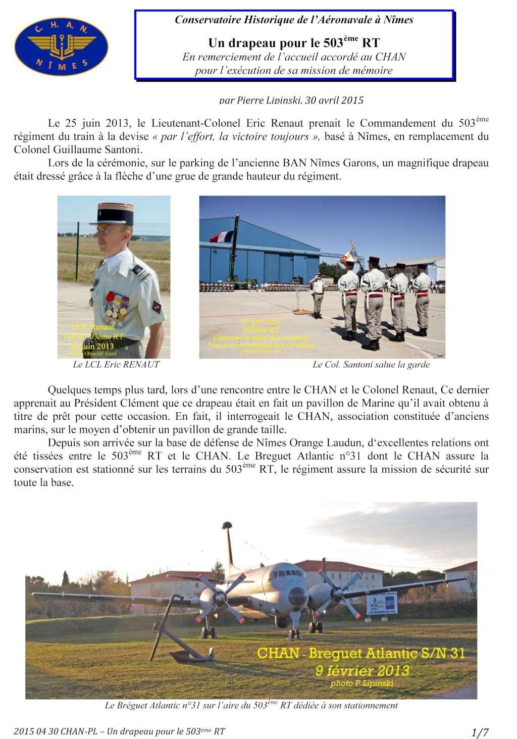 [Associations anciens marins] C.H.A.N.-Nîmes (Conservatoire Historique de l'Aéronavale-Nîmes) - Page 3 2015_010