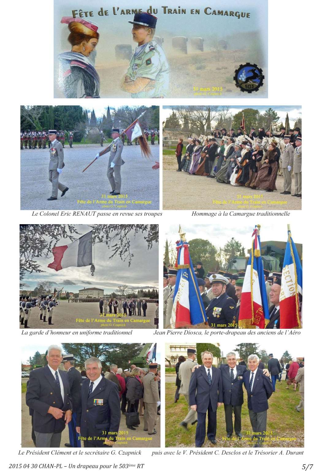 [Associations anciens marins] C.H.A.N.-Nîmes (Conservatoire Historique de l'Aéronavale-Nîmes) - Page 3 2015_017