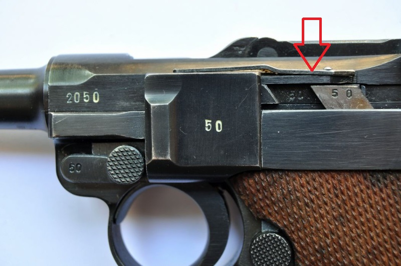 P 08 Mauser, code byf, daté 41, de police. - Page 2 Surety10