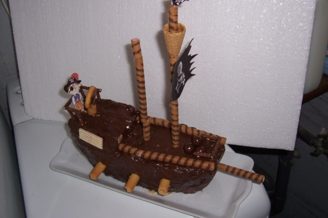 Le bateau pirate Gateau10