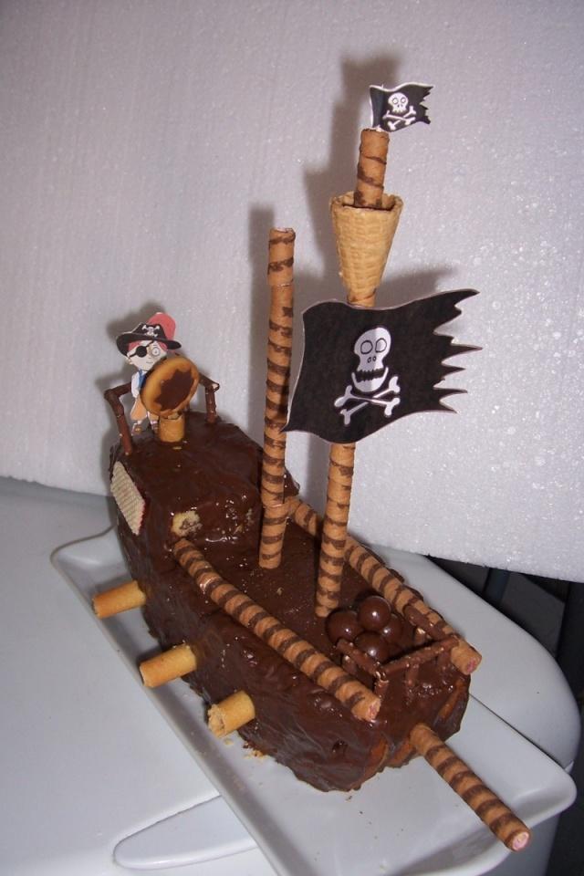 Le bateau pirate Gateau11