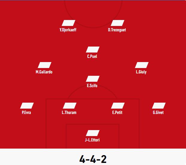 Vos 11 de légende par club Monaco10