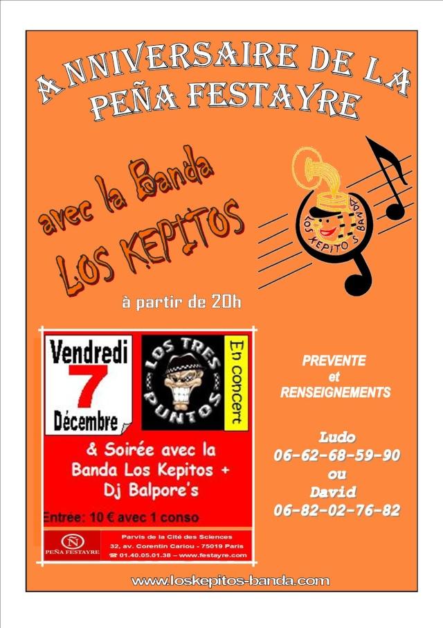 Soirée Los Képitos ... le 07 décembre 2007 Affich13
