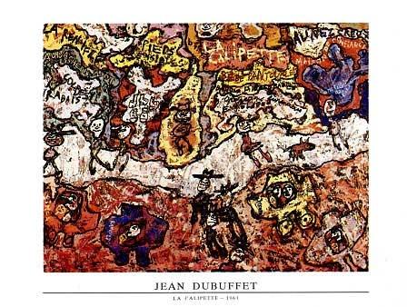 Ham sanatın babası tüm süreçleriyle DUBUFFET Dubuff15