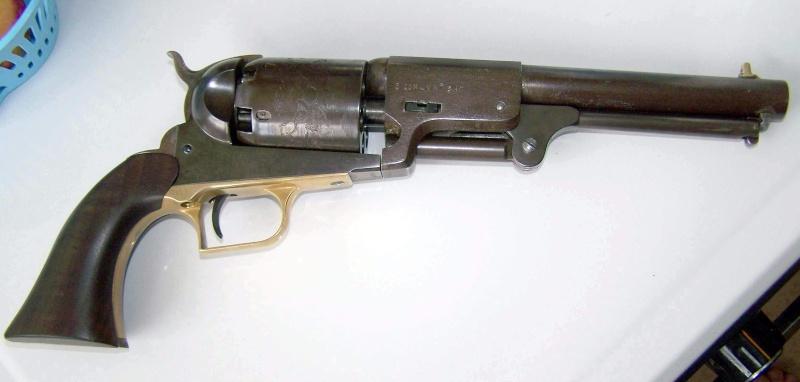 Bronzage à froid CARTRY sur Remington 1858 (DAMASCUS BROWN) 100_0410