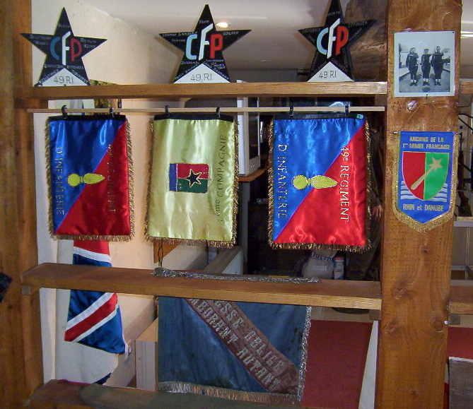 musée du CFP Corps Franc Pommiès 49ème RI Cfp1710