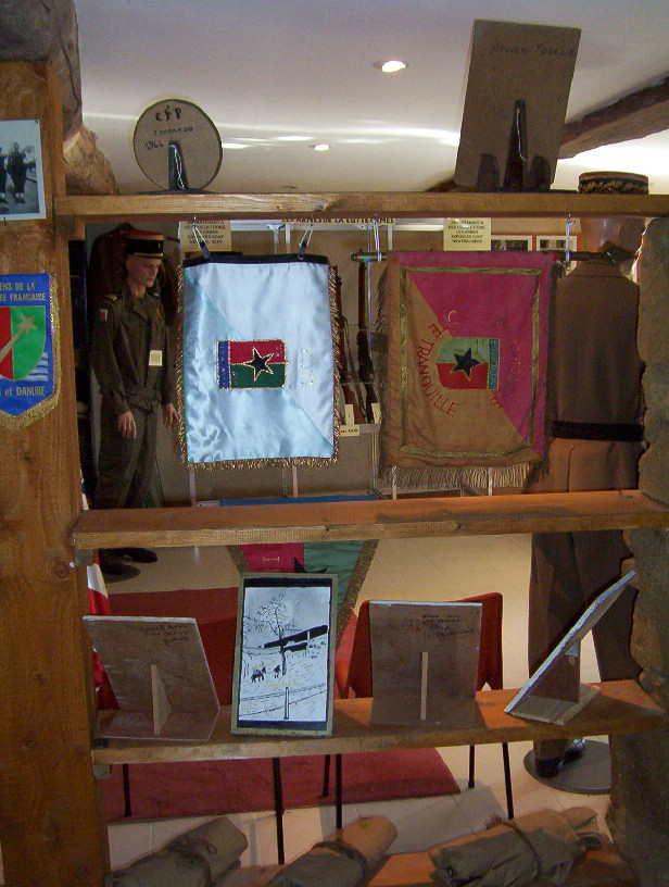 musée du CFP Corps Franc Pommiès 49ème RI Cfp1810