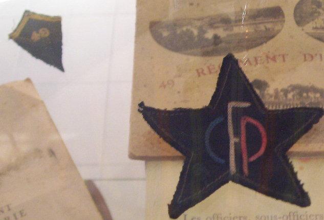 musée du CFP Corps Franc Pommiès 49ème RI Cfp2610