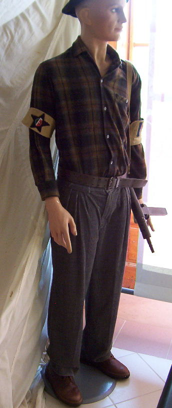 musée du CFP Corps Franc Pommiès 49ème RI Cfp610