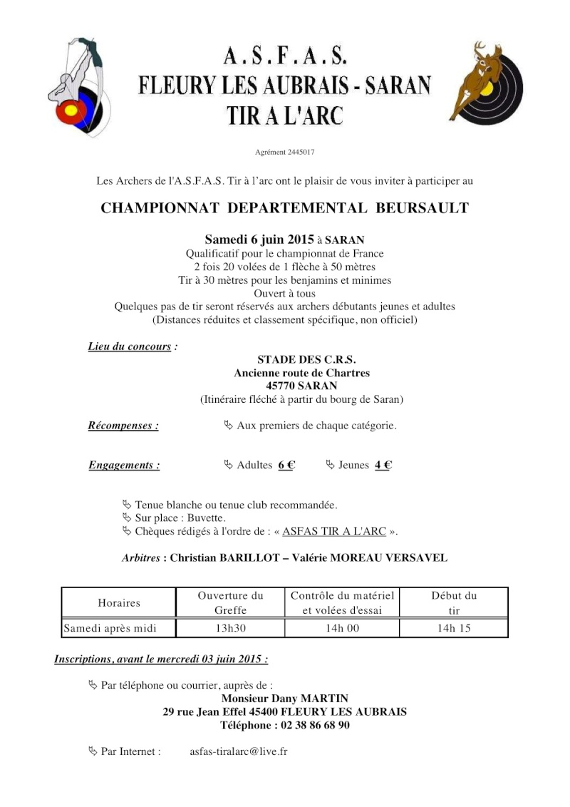 Championnat départemental beursault 2015 Mandat10