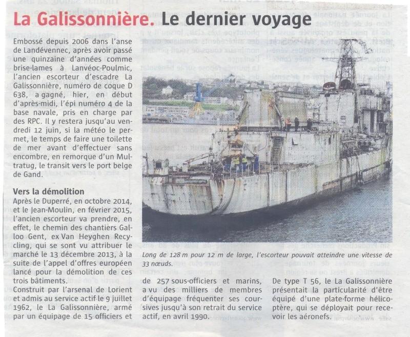 [Autre sujet Marine Nationale] Démantèlement, déconstruction des navires - TOME 2 - Page 3 Galiis10