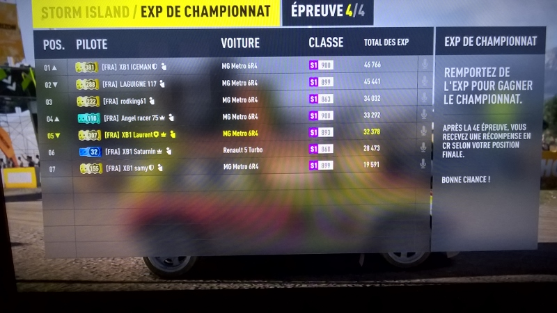 Tournois Forza Horizon 2 - Before Summer Storm Edition Championship : Classement  Wp_20128