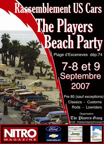 Dans le 74,The Players Beach Party Affich10