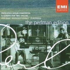 Oeuvres  pour violon de Prokofiev. 51hkt810