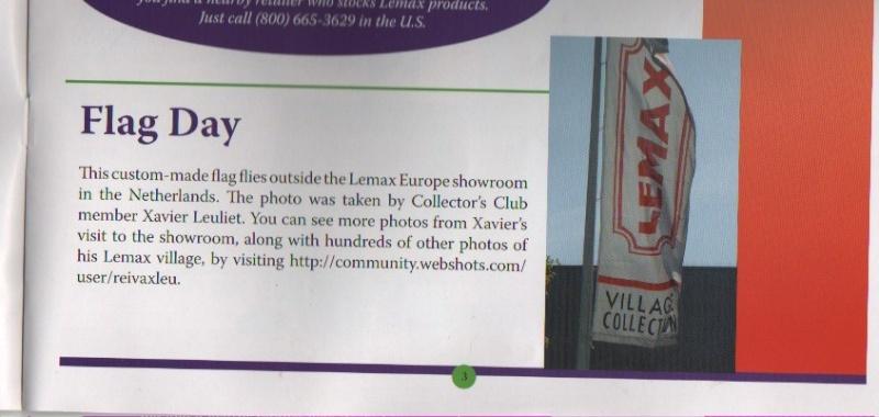 Relevés dans le Lemax Collector\'s Club  (automne 2007) 10_23_10
