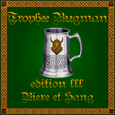 Le Trophée Bugman!