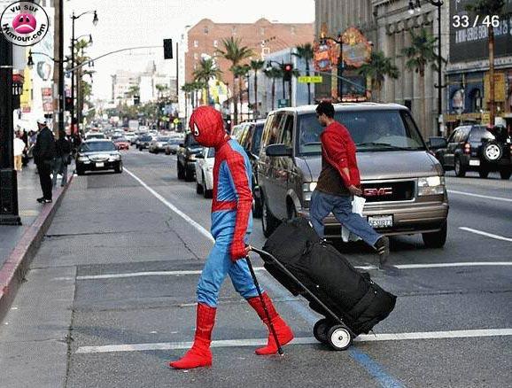 Spiderman à la rue 00032110