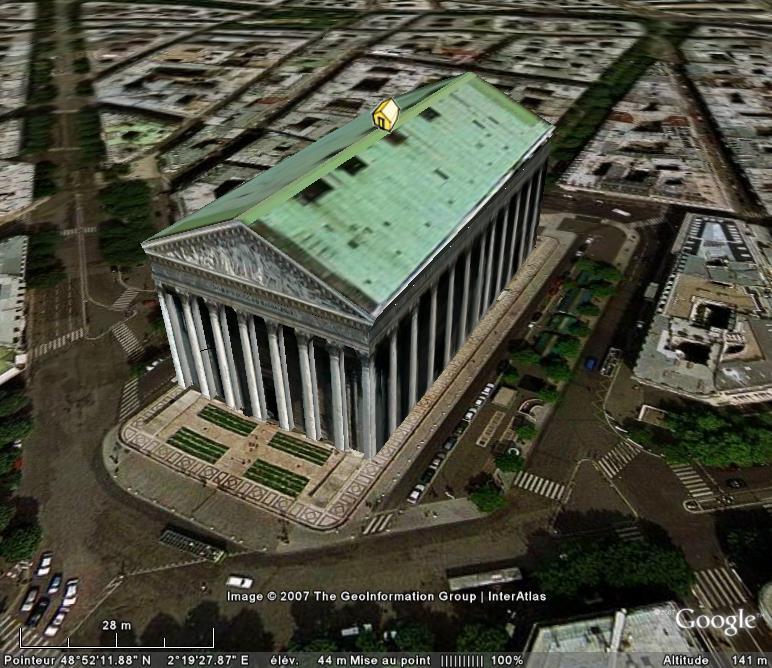 Bâtiments 3D avec textures - PARIS et Région parisienne [Sketchup] - Page 3 Eglise10