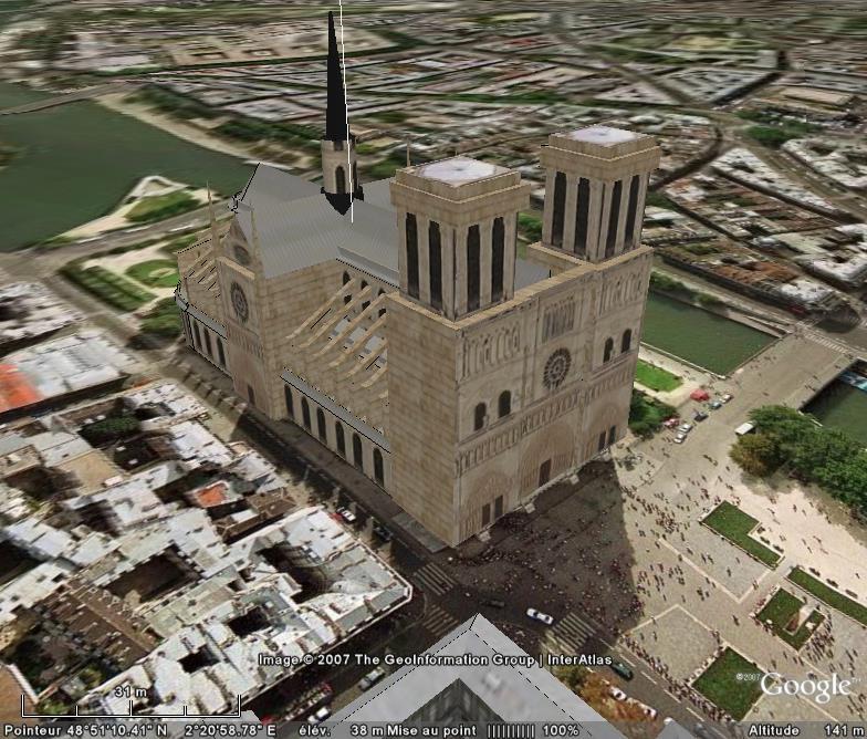 Bâtiments 3D avec textures - PARIS et Région parisienne [Sketchup] - Page 2 Notre-10