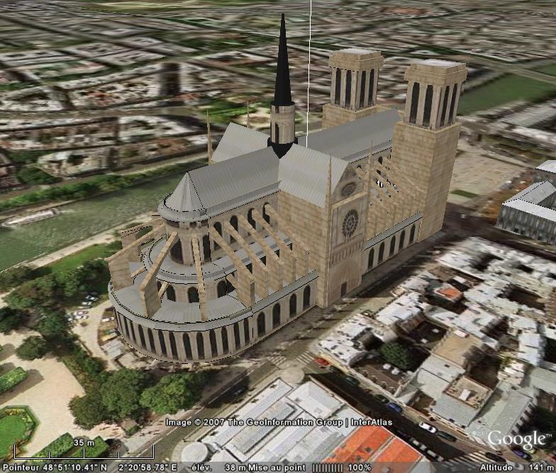 Bâtiments 3D avec textures - PARIS et Région parisienne [Sketchup] - Page 2 Notre-11