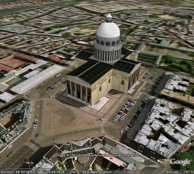 Bâtiments 3D avec textures - PARIS et Région parisienne [Sketchup] - Page 2 Panthe10