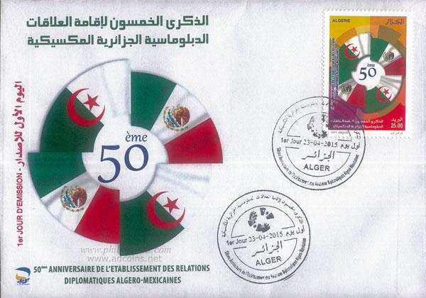 06/2015 : Relations Diplomatiques Algéro-Mexicaines Fdcfor10