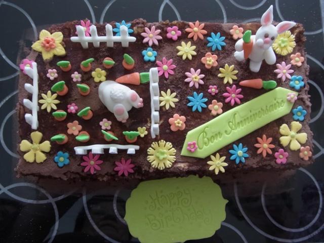 deux gâteaux d'anniversaire R0050610